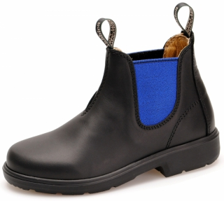 Yabbies Town & Country Chelsea Boots - Black and Royal