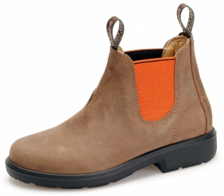 Yabbies Town & Country Chelsea Boots - Vintage Orange
