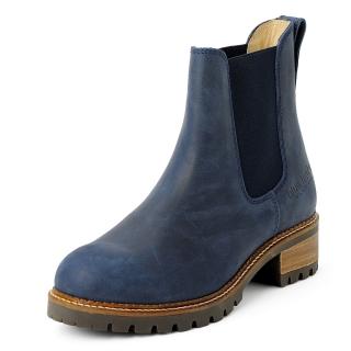 Blue Heeler Boots Pash Navy Blue-Blue