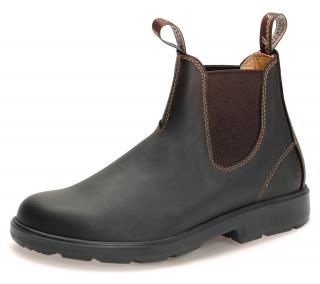 Moonah Chelsea Boots Dark Brown