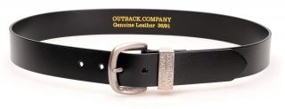 Outback Company Ledergürtel Black