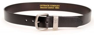 Outback Company Ledergürtel Brown