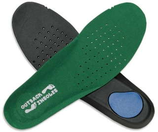 Outback Insoles Green 4mm