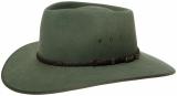 Akubra Cattleman / bluegrass green
