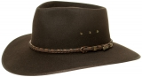 Akubra Cattleman / tanbark brown