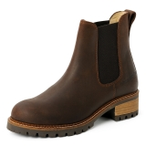 Blue Heeler Boots Pash Brown-Brown
