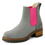 Blue Heeler Boots Pash Grey-Pink