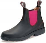 Moonah Boots Dark Brown and Pink